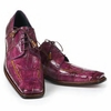 Mauri Alligator Purple and Mustard Shoes Prince 3029
