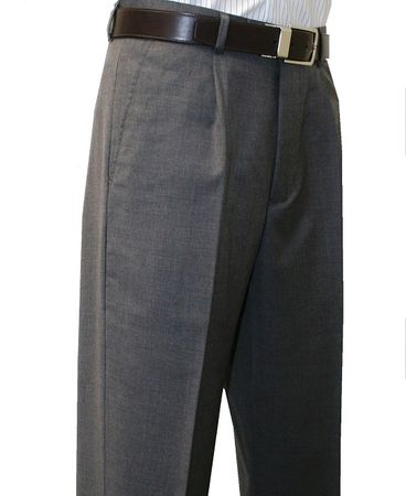 Mens 100% Wool Dress Pants