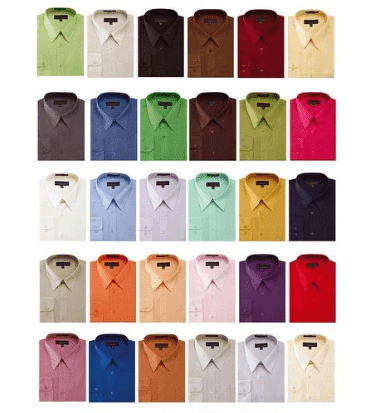 Colorful Dress Shirts