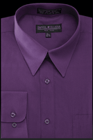 Daniel Ellissa Mens Purple Dress Shirt DS3001