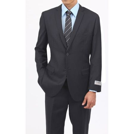 Men's Charcoal Gray 2 Button Classy Ultra Slim Fit Type Suit 2 Piece M085S-03 - click to enlarge