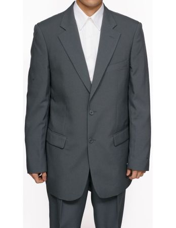 Mens Cheap Gray Suit on Sale Discount 2PP - click to enlarge
