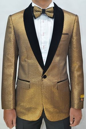 Mens Copper/Black Velvet Textured Pattern Prom Tuxedo Modern Fit Jacket Alberto Paisley-300