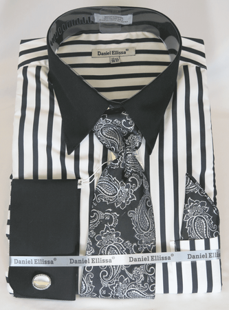 Mens Shirt and Tie Sets
