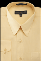Daniel Ellissa Mens Yellow Dress Shirt Regular Fit DS3001