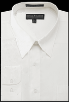 Daniel Ellissa Mens Ivory Dress Shirt DS3001