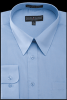 Daniel Ellissa Mens Light Blue Dress Shirt DS3001