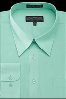 Daniel Ellissa Mens Mint Green Dress Shirt DS3001