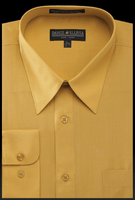 Daniel Ellissa Mens Mustard Dress Shirt DS3001
