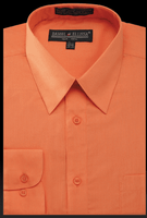 Daniel Ellissa Mens Orange Dress Shirt DS3001