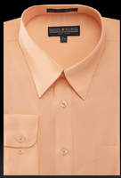 Daniel Ellissa Mens Peach Dress Shirt DS3001