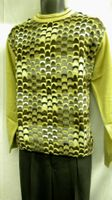 Mens Fashion Sweater by Gochu Tan Australian Style Crewneck 1327