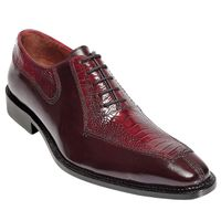 Mens Ostrich Top Shoes by Belvedere Burgundy Red Shoes Dino 0B1