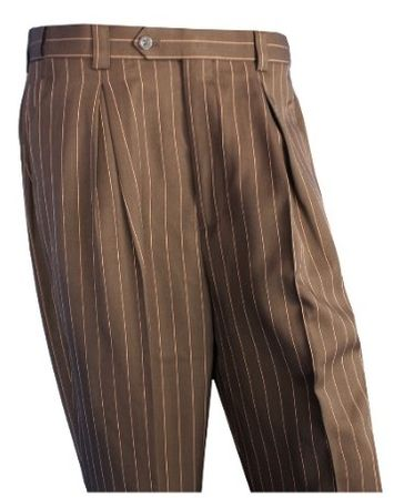 Mens Pleated Dress Pants