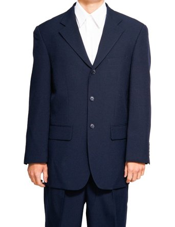Mens Suits by Milano Dark Navy 3 Button Suit 802P