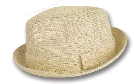 Mens Summer Hats by Montique Tan Stingy Brim Hat H-04