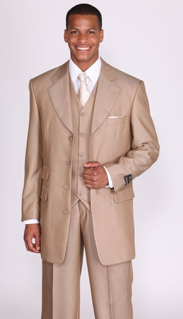 Mens Wide Leg Suits