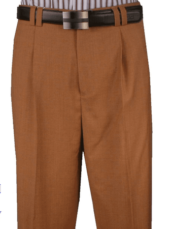Mens Wide Leg Wool Dress Pants