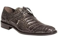 Mezlan Gray Crocodile Shoes Anderson 13584-F IS