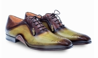 Mezlan Mens Olive Brown Two Tone Lace Up Ferrara 8450