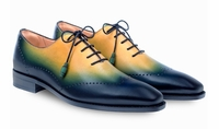 Mezlan Shoes Mens Blue Multi Fade Lace Up Addy 8508