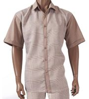 Inserch Walking Suit Light Brown Glen Plaid 734