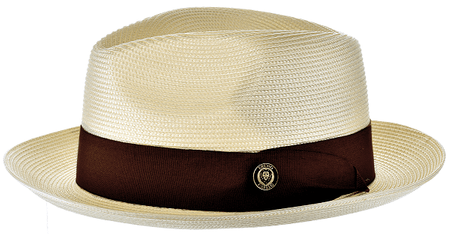 Panama Hat Natural Men's Summer Fedora FN824