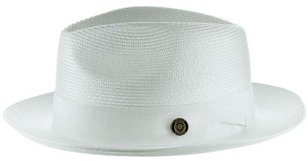 Panama Hat White Men's Summer Fedora FN820 Size S,M