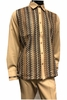 Prestige Latte Beige Knit Front Long Sleeve Outfit PM-770