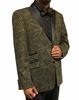 Men's Stylish Blazer Black Gold Vector Entertainer After Midnight 8018-924 IS