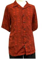 Gochu Men's Red Design Casual Short Sleeve Shirt 2012