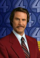 Ron Burgundy Suit Mens 3 Button Jacket Pleated Pants 802P