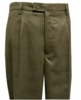 Silversilk Mens Taupe Plaid Wide Leg Dress Pants 590P