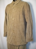 Smokey Joes Mens Beige Shadow Print Corduroy Walking Suit SE439 Size M/32 Only