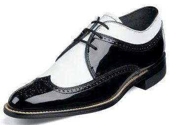 Stacy Adams Wingtip Shoes 1920s Style Dayton