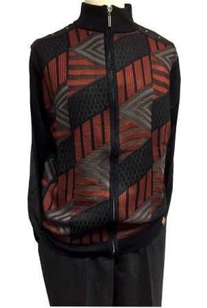 Stacy Adams Black Fashion Sweater Outifit for Men 3376