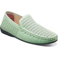 Stacy Adams Casual Slip On Shoes Mint Green Cicero 25172-447 IS