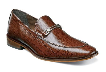 Stacy Adams Mens New Mustard Gucci Style Loafer Santiago 25087-701 OS - click to enlarge