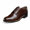 Stacy Adams Madison Brown Python Shoes 00055-200 Size 7.5, 9,11 Final Sale
