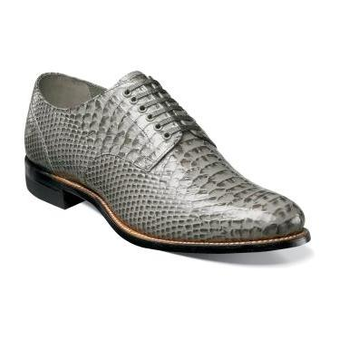 Stacy Adams Madison Gray Shoes 00034-020 Size 8 Final Sale