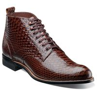 Stacy Adams Madisons Men's Brown Python Motif Boots 00057-200