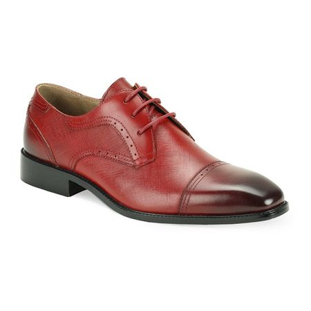 Stacy Adams Mens Ruby Cap Toe Dress Shoes Ace htm - click to enlarge