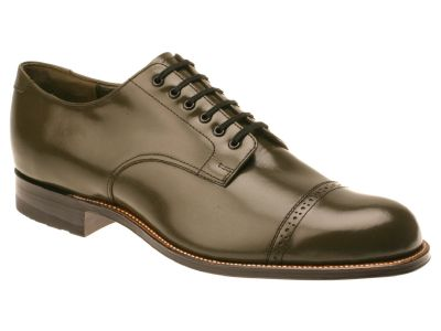 Stacy Adams Madison Mens Olive Green  1920s Style Shoes 00012-04