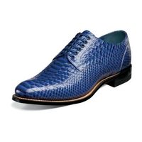 Stacy Adams Retro 1920s Madison Men's Royal Snake Look Shoes 00055-400