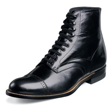 Stacy Adams Mens Black Madison Boots 00015-01