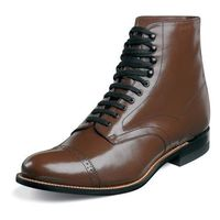 Stacy Adams Mens Brown Classic Style Madison Lace Up Boots 00015-02