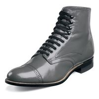 Stacy Adams Mens Gray Madison Vintage Style Boots 00015-10
