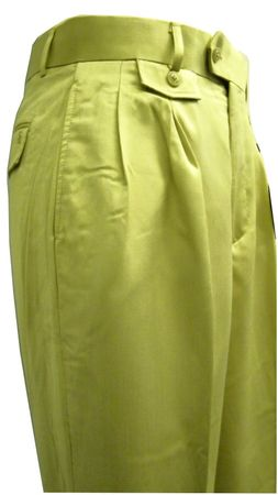 Stacy Adams Mens Tan Texture Wide Leg Dress Pants 1154 Size 30W, 34W