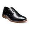 Stacy Adams Shoes Black Wingtip Oxford Alaire 25128-001