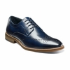 Stacy Adams Shoes Blue Wingtip Oxford Alaire 25128-401
